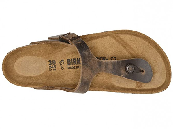 Birkenstock Gizeh Oiled Leather